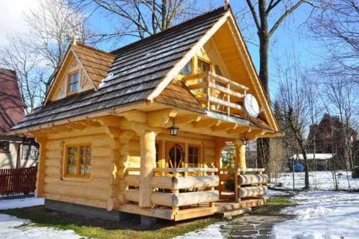 Dieses Haus ist gerade mal 27m³, aber wenn du es von innen siehst ...