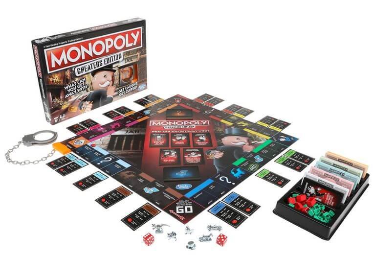 familiespel Monopoly valsspelen