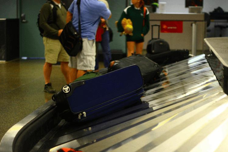 wachttijd koffer bagageband