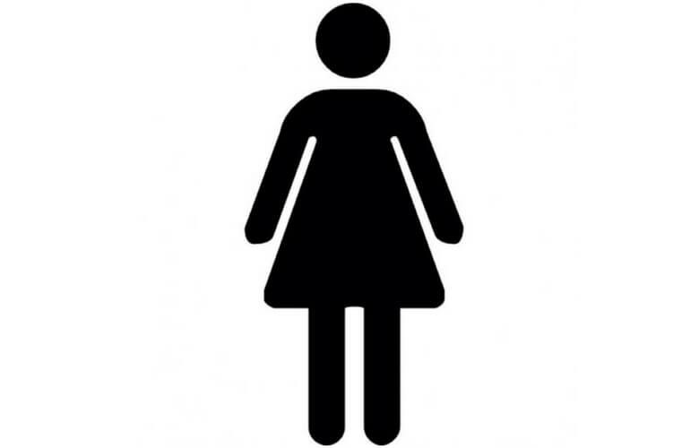 meisje rokje toilet