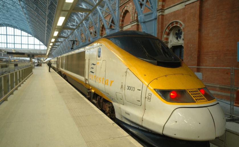 Londen Amsterdam trein